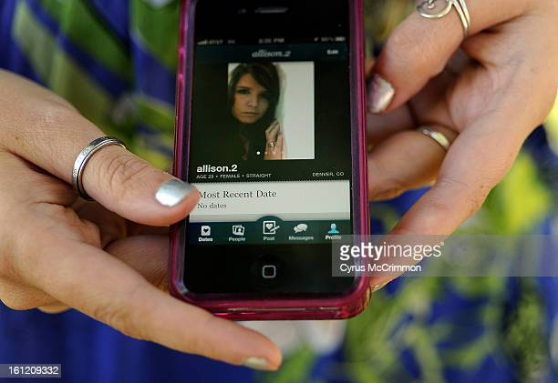 29yearold Allison Silva uses the phone app HowAboutWe to meet people for dating She was at an Aurora Park on Thursday September 22 2011 Cyrus...