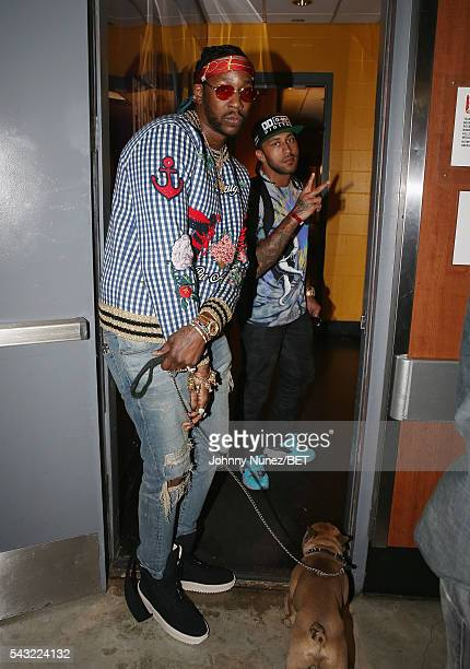 2Chainz attends the 2016 BET Experience Staples Center Concert Presented by Sprite Performances by LIL WAYNE 2 CHAINZ TORY LANEZ A$AP FERG FETTY WAP...