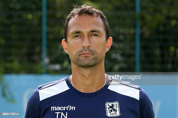 2nd Coach Tuncay Nadaroglu poses during the official team presentation of TSV 1860 Muenchen at Trainingsgelaende on July 22 2016 in Munich Germany