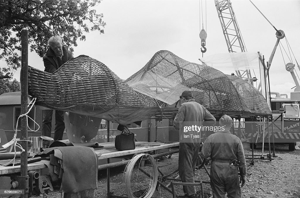 A fibreglass model of the Loch Ness Monster being made for the film 'The Private Life of Sherlock Holmes' UK The film is being directed by Billy...