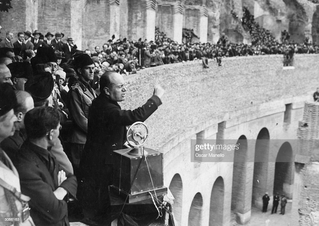"""a biography of benito mussolini the fascist dictator of italy Mussolini and the fascist leadership  movement in italy under command of dictator """"il duce"""" benito mussolini mussolini was the leader of italy from."""