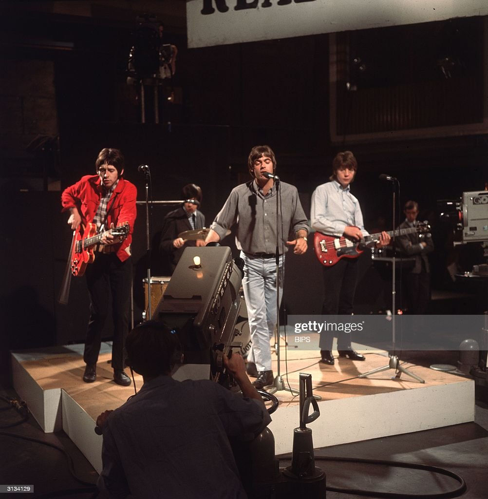 British Mod band The Creation perform their hit single 'Making Time' for the television programme 'Ready Steady Go'.