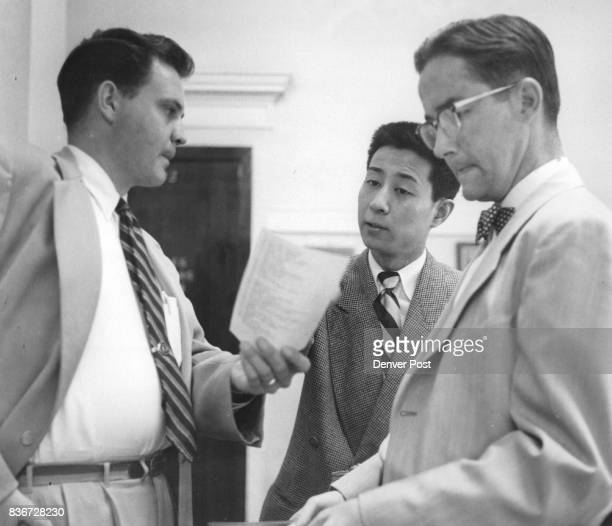 JUN 21 1956 6231956 2Wesley Doan assistant city attorney and a complainant against Marco Liang concerning the Chinese immigrant's operation of...
