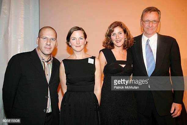 2x4 and Richard Gluckman attend The 2006 National Design Awards at The Smithsonian Institution's CooperHewitt on October 18 2006 in New York City
