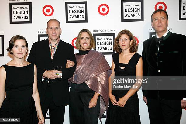 2x4 Martha Schwartz and Paul Warwick Thompson attend The 2006 National Design Awards at The Smithsonian Institution's CooperHewitt on October 18 2006...