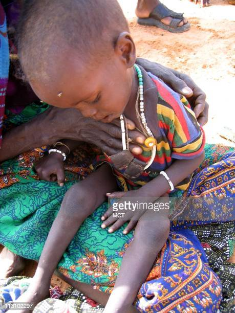 2yearold Hari in rebelcontrolled Darfur Uncounted thousands of refugees huddle in caves and bushes in rebelcontrolled areas of Sudan's Darfur region...