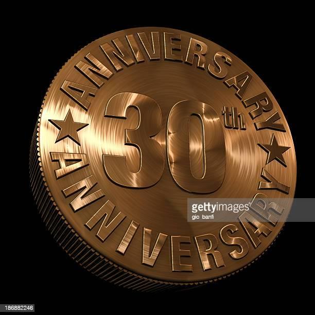 30th anniversary medal