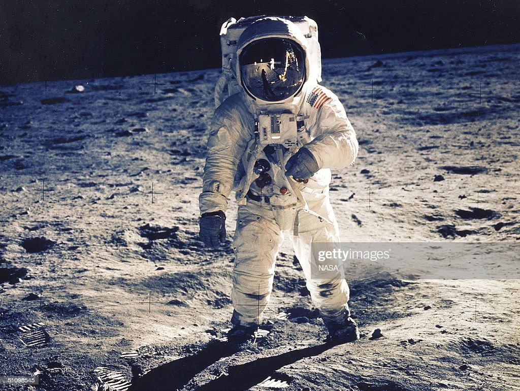 30Th Anniversary Of Apollo 11 Landing On The Moon Astronaut Edwin E Aldrin Jr Lunar Module Pilot Is Photographed Walking Near The Lunar Module During...