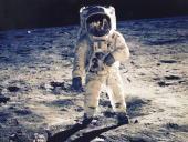 30Th Anniversary Of Apollo 11 Landing On The Moon Astronaut Edwin E Aldrin Jr Lunar Module Pilot Is Photographed Walking Near The Lunar Module During...