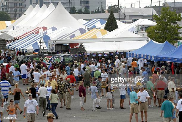 30th annual J Millard Tawes Crab and Clam Bake in Crisfield Maryland