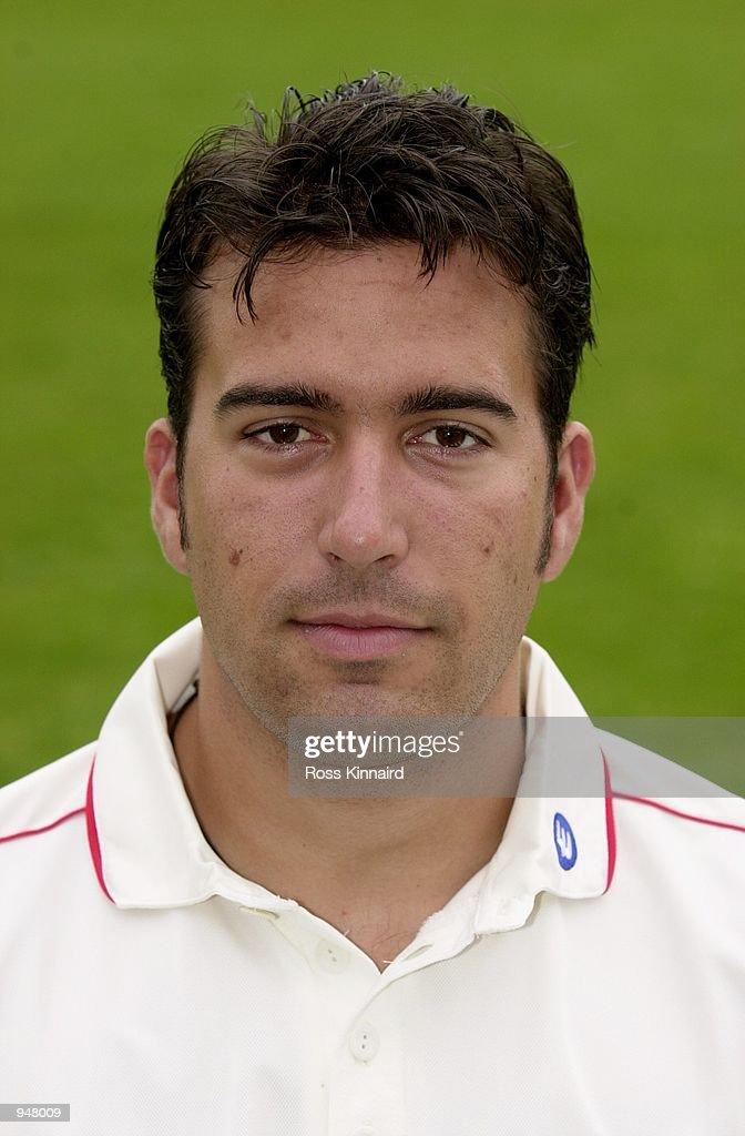 Headshot of James Ormond of Leicestershire County Cricket Club. DIGITAL IMAGE \ Mandatory Credit: Ross Kinnaird /Allsport