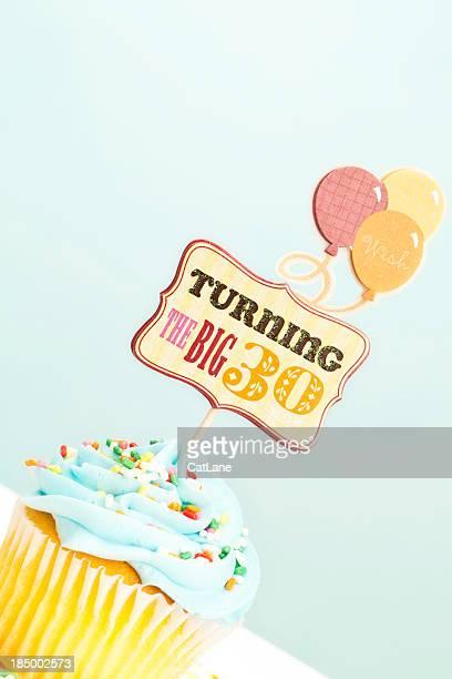 30 ème anniversaire Cupcake