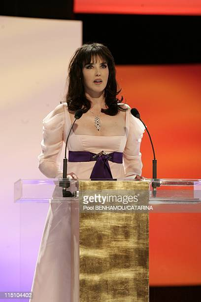 30th Cesar Awards Ceremony at the Theatre du Chatelet in Paris France on February 26 2005 Isabelle Adjani