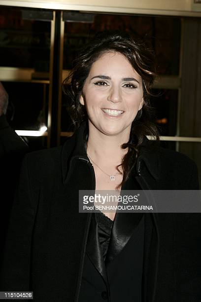 30th Cesar Awards Ceremony at the Theatre du Chatelet in Paris France on February 26 2005 Valerie Benaim