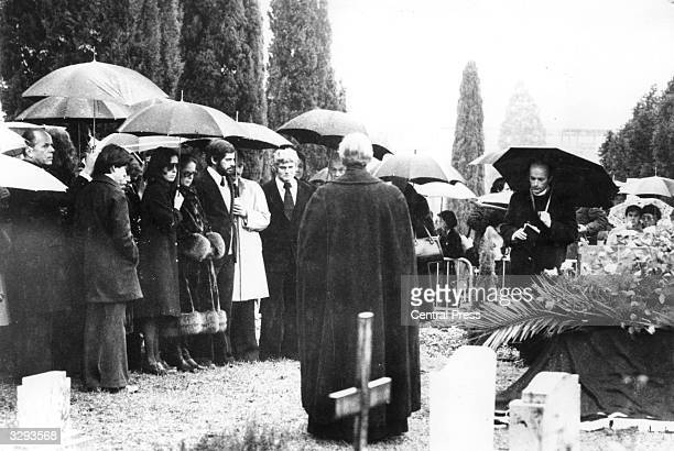 Charlie Chaplin's family attend a quiet private funeral His death at 88 on Christmas Day led to a service at home with the burial in the cemetery at...