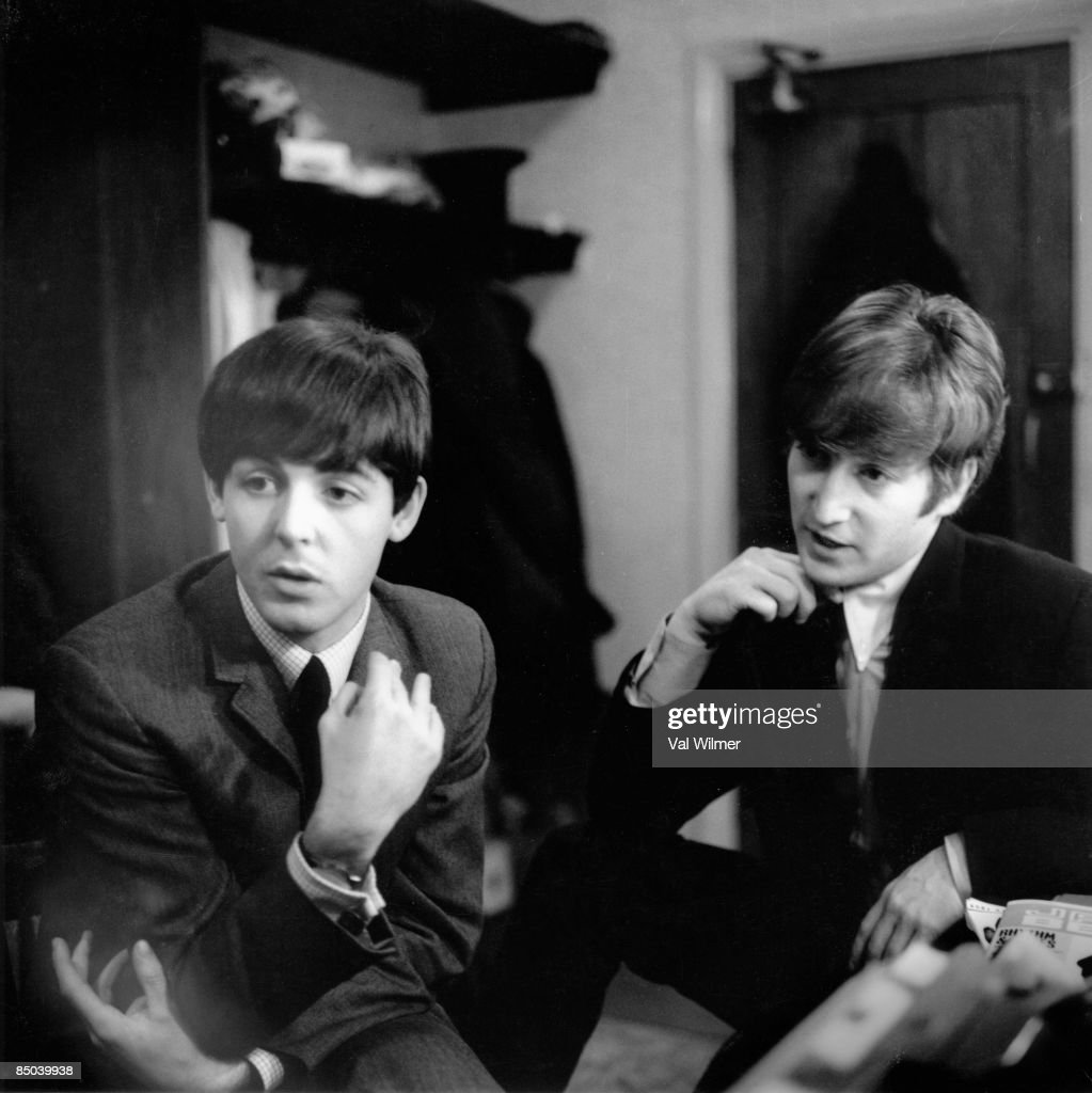 Free John Lennon And Paul Teenager