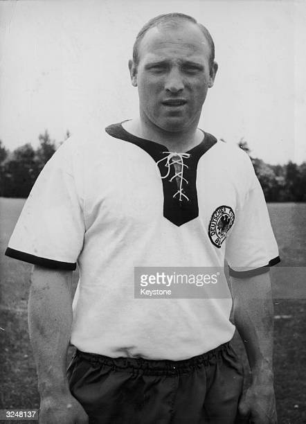 Captain of the 1966 West German World Cup team Uwe Seeler