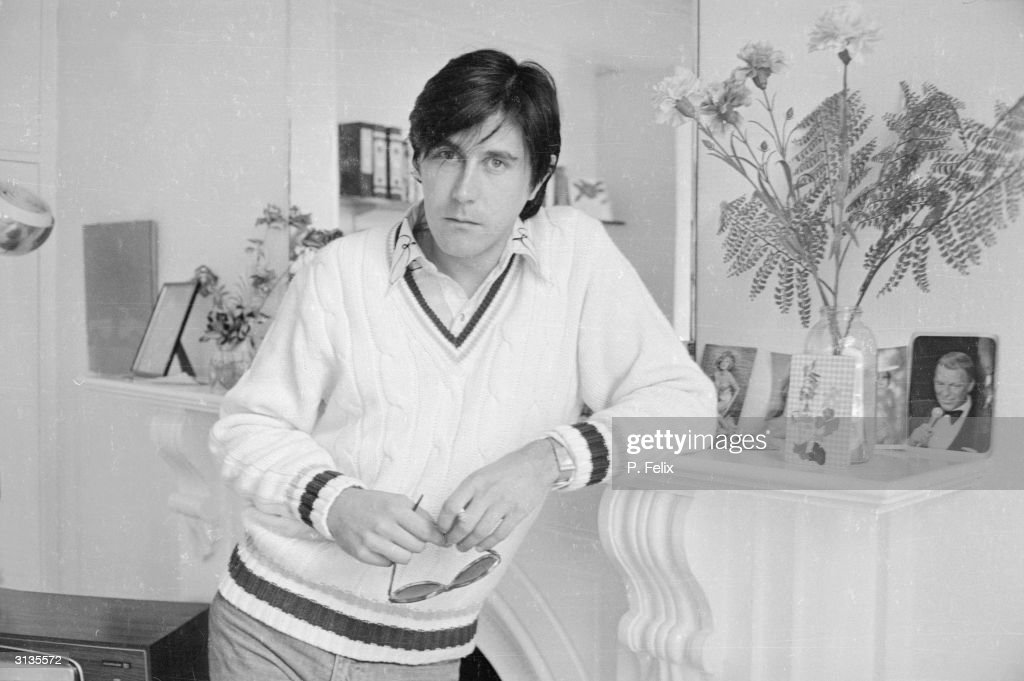 British vocalist Bryan Ferry, lead singer of the 70s group Roxy Music.