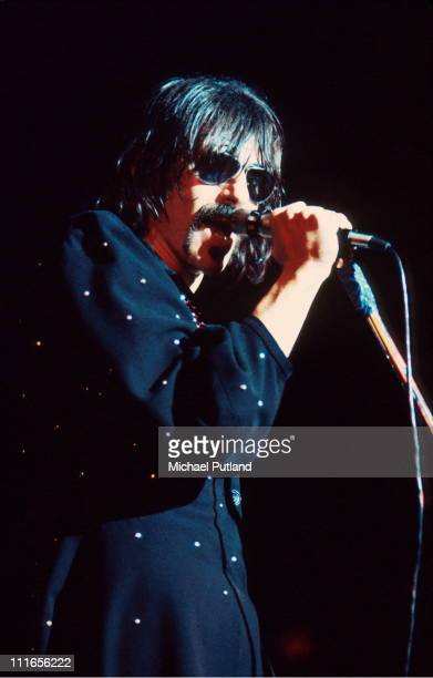 Peter Wolf of the J Geils Band performs live on stage at the Lyceum in London on 30th June 1972