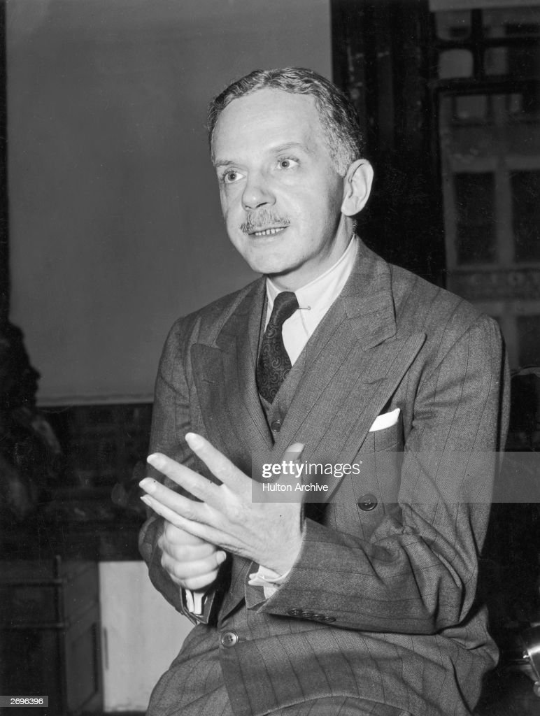 American civil rights leader and writer Walter White (1893 - 1955), secretary of the National Association for the Advancement of Colored People (NAACP), gesticulating, New York City.
