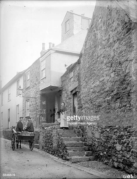 Cottages in St Ives Cornwall