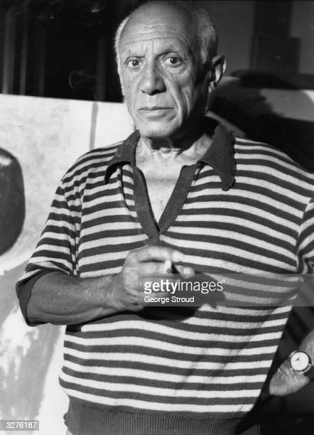 Pablo Picasso Spanish painter and pioneer of Cubism