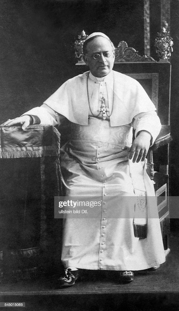Papst 1922-1939eigentl. Ambroghio D. Achille Ratti, Italien- 1928