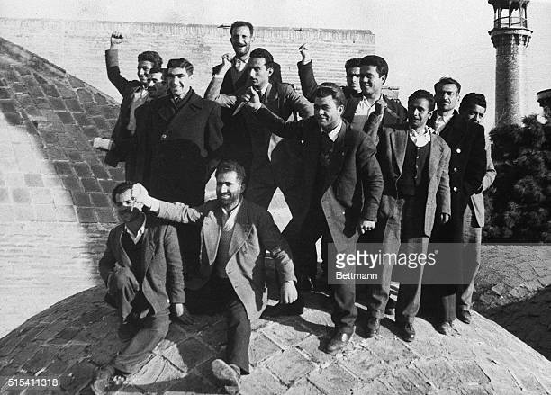 3/13/1954Teheran Iran AntiRed mob on prowl in Iran elections Here is one of antiCommunists who prowled Teheran during the threeday national elections...