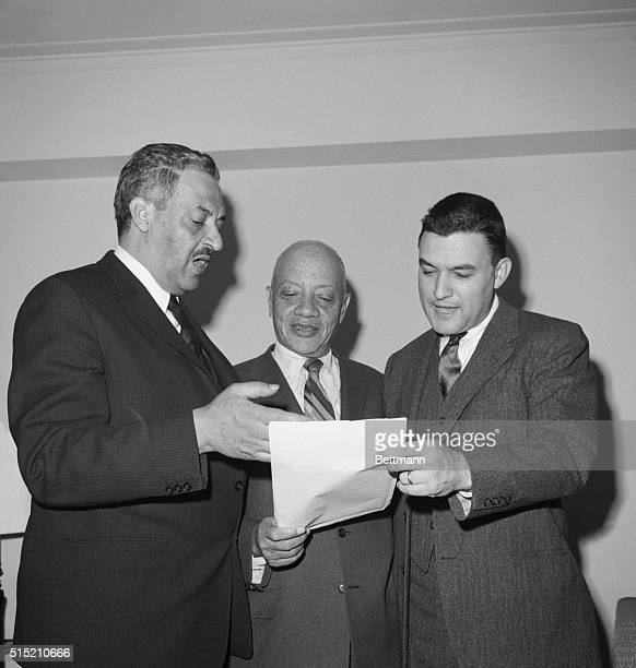 3/19/1960Washington DC Thurgood Marshall chief councel of the NAACP told a press conference that the NAACP attorneys have agred to defend everyone of...