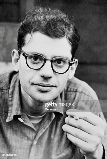 Closeup of author Allan Ginsburg