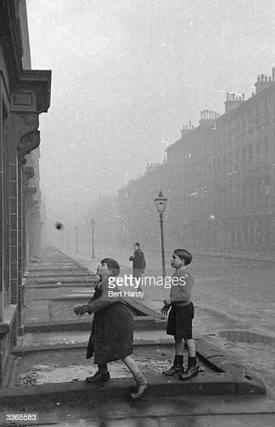 Glaswegian children playing in a street in the Gorbals The Gorbals tenements were built quickly and cheaply in the 1840s providing housing for...