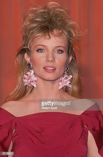 Headshot of American actor Rebecca De Mornay posing backstage at the 44th Annual Golden Globe Awards Beverly Hilton Hotel Beverly Hills California...