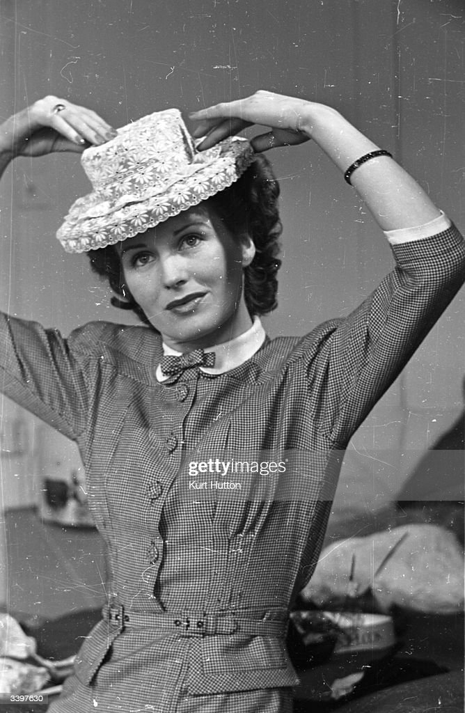 By adding needlework insertion or stiff lace a summer hat may be revitalised for a new look. Original Publication: Picture Post - 1933 - Your Hats Need Never Be Old - pub. 1945