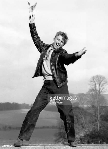 Cockney rock 'n' roll singer Tommy Steele