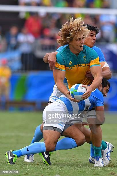 ARG AUS Men's Placing 58 Jesse PARAHI / Gaston REVOL / Axel MULLER / Deodoro Stadium / Summer Olympic Games /