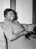 3/2/1940Los Angeles CA Actress Hattie McDaniel is shown with the statuette she received for her portrayal in 'Gone With The Wind' The award was for...