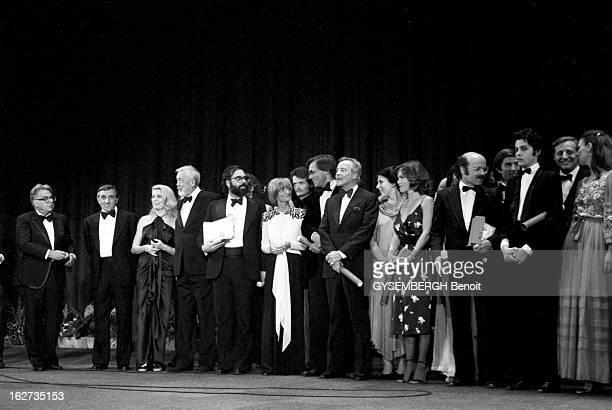 Closing Ceremony Le 32ème Festival de Cannes se déroule du 10 au 24 mai le palmarès avec les lauréats sur scène Lino VENTURA Catherine DENEUVE John...