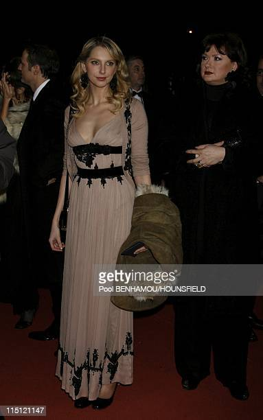 32nd Cesar Awards Ceremony at the Theatre du Chatelet in Paris France on February 24 2007 Frederique Belle and Catherine Jacob