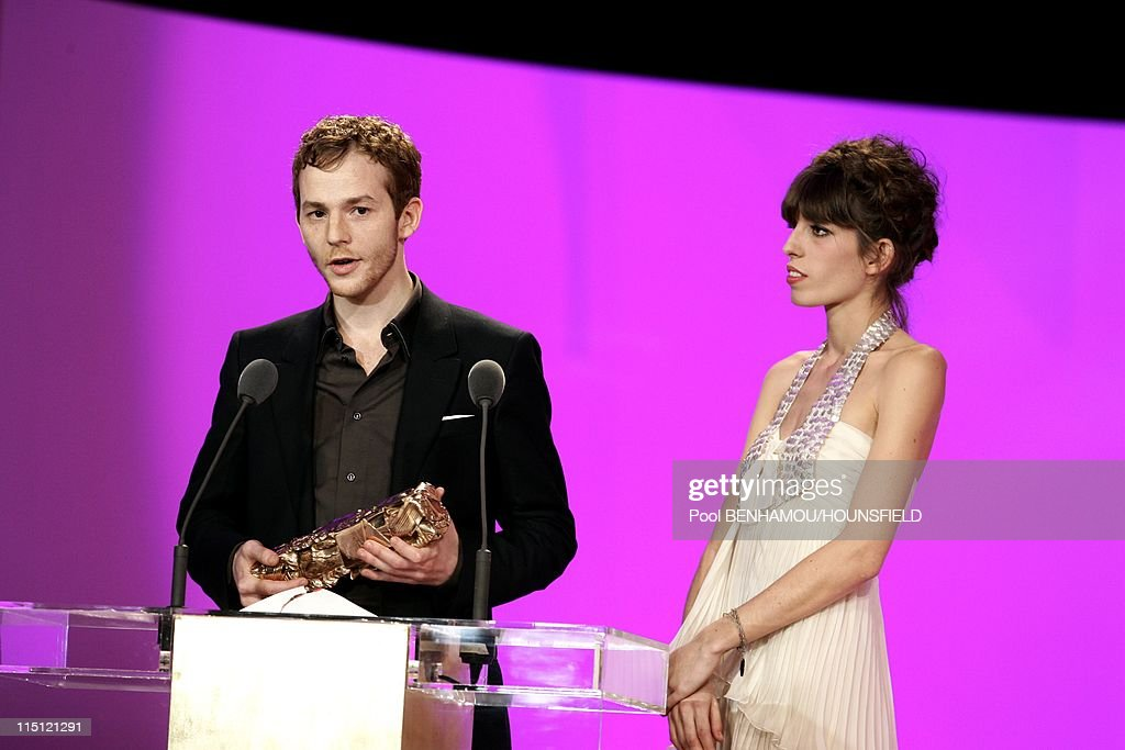 32nd Cesar Awards Ceremony at the Theatre du Chatelet in Paris France on February 24 2007 Malik Zidi Best promising actor for 'Les amities...