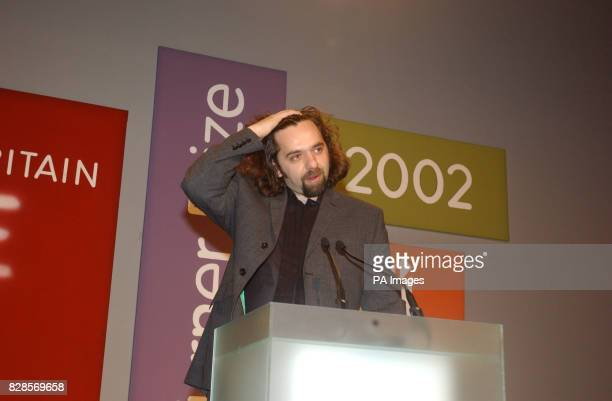 33yearold Keith Tyson received the 2002 Turner prize at the Tate Britain Gallery London Mr Tyson known for casting the entire contents of a Kentucky...