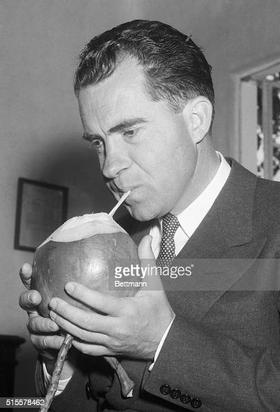 Fascinating Historical Picture of Richard Nixon on 3/1955