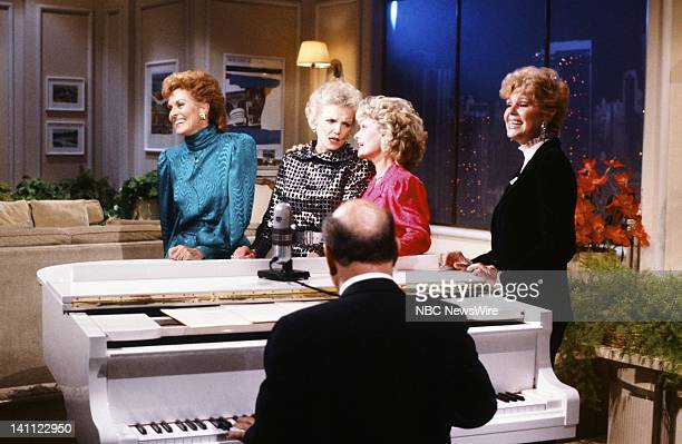 TODAY '35th Anniversary' Pictured Former TODAY Girls Lee Meriweather Helen O'Connell Florence Henderson Betsy Palmer on the 35th Anniversary of TODAY...