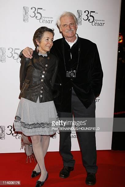 35th Cesar Awards Ceremony Arrivals In Paris France On February 27 2010Yann ArthusBertrand