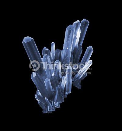 3d Black Quartz Crystal Abstract Faceted Gem Rough Nugget