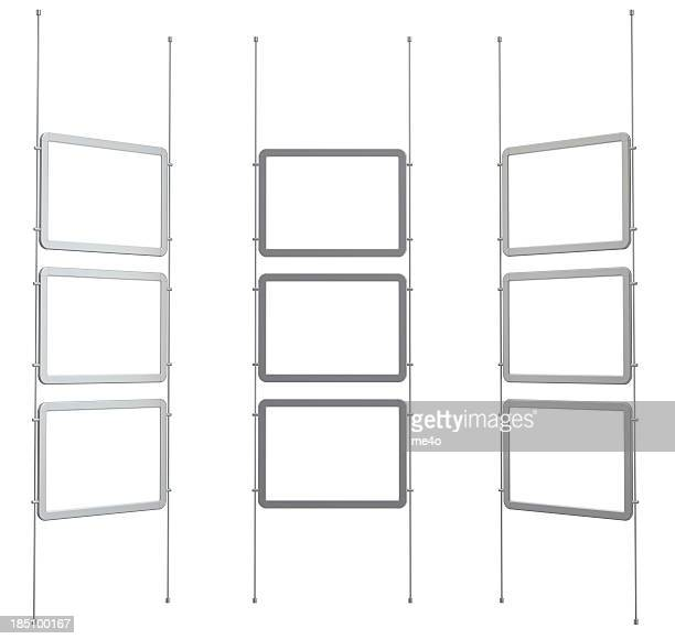 3d blank digital frames