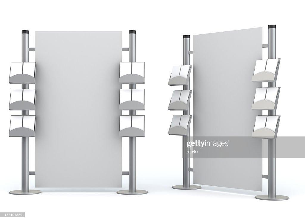 3d blank  information center