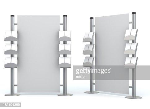 3 d の空白の情報センター
