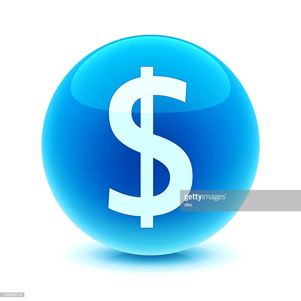 3d Dollar Symbol : Stock Photo