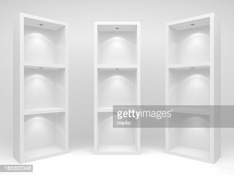 3d Empty racks