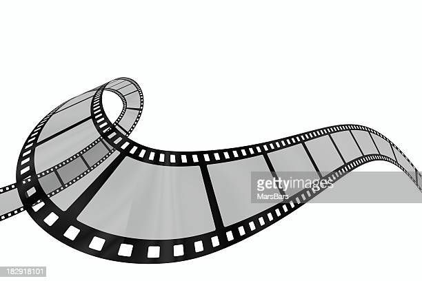 3d filmstrip wavy loop